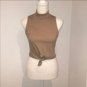 Urban Outfitters Mock Neck Crop Top